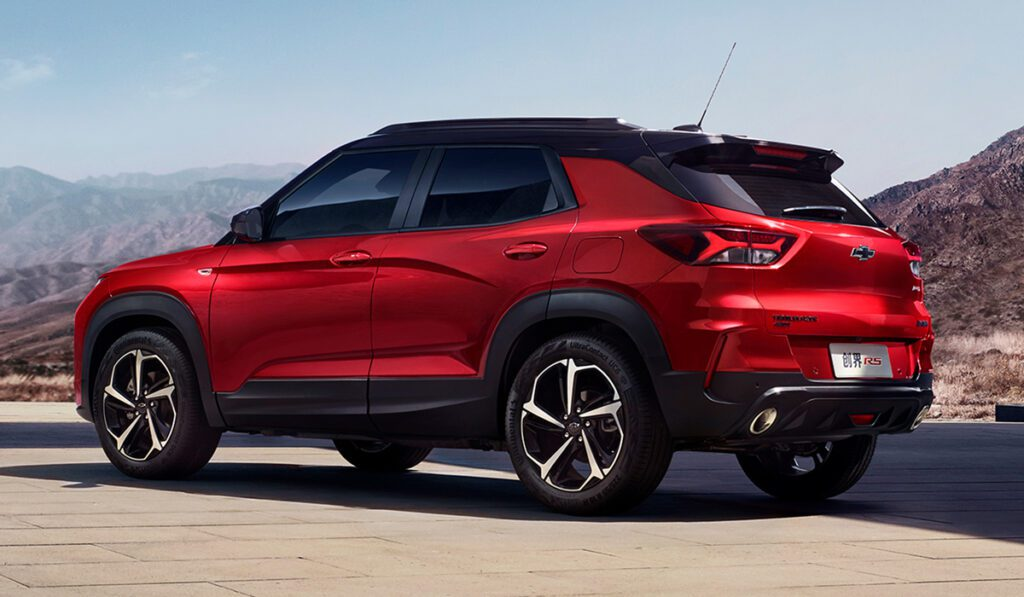 Chevrolet рассказала о новом рамном внедорожнике TrailBlazer