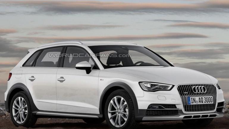 Audi готовит внедорожный хэтчбек Audi A3 Cityhopper