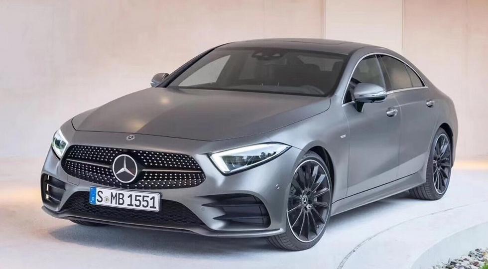 Новый седан Mercedes-Benz CLS рассекретили до премьеры