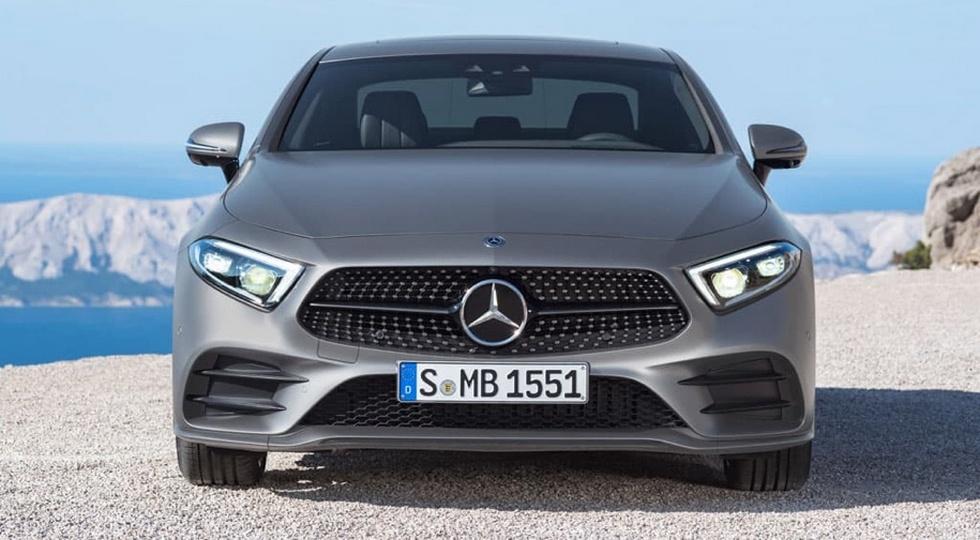 Mercedes нановый CLS выпустил видео-тизер