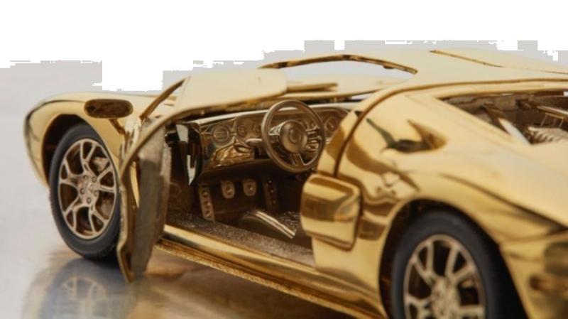 Копию спорткара Ford GT из золота продадут на аукционе