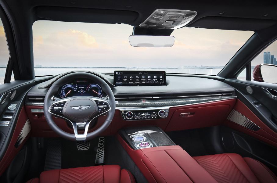Премиальный бренд Genesis показал спортивную версию седана G80