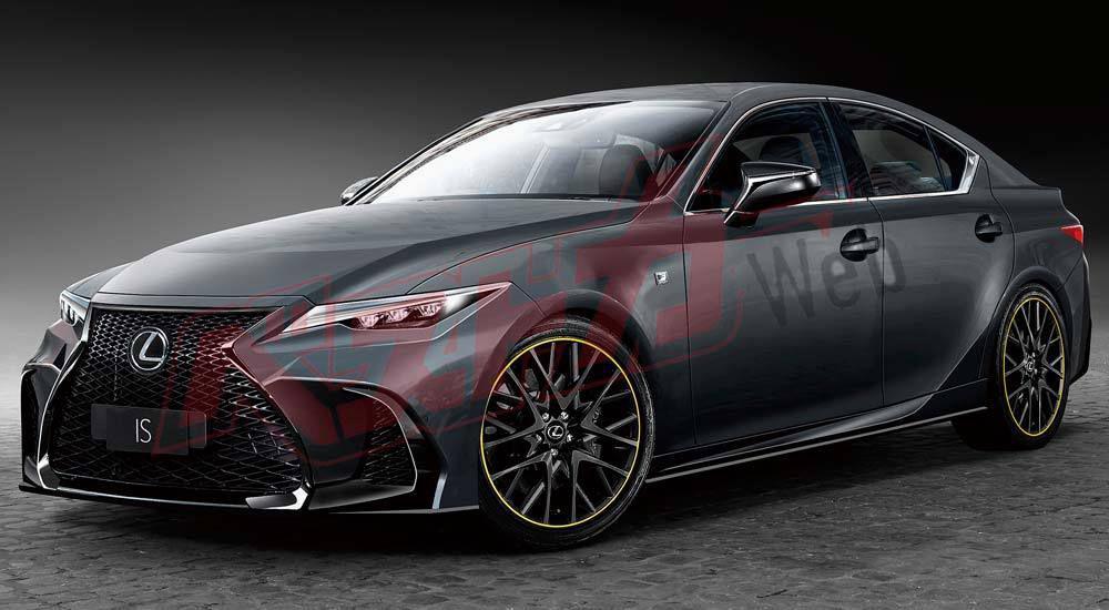 Следующее поколение Lexus IS получит двигатель BMW