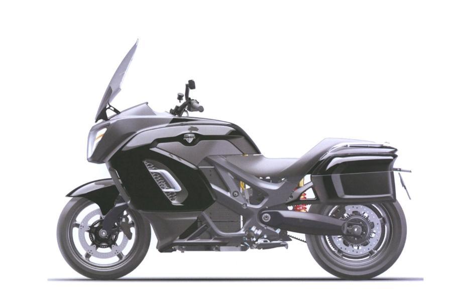 Опубликованы первые изображения электрического мотоцикла Aurus