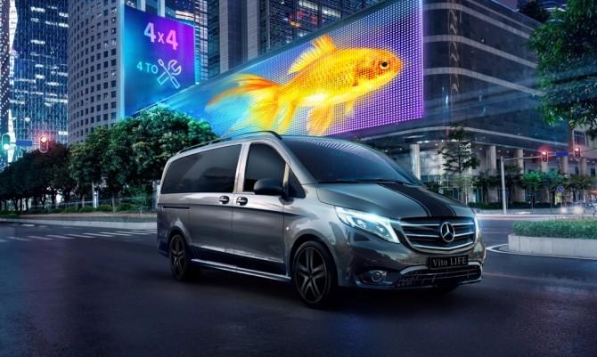 Mercedes-Benz Sprinter и Vito получили специальные версии в РФ