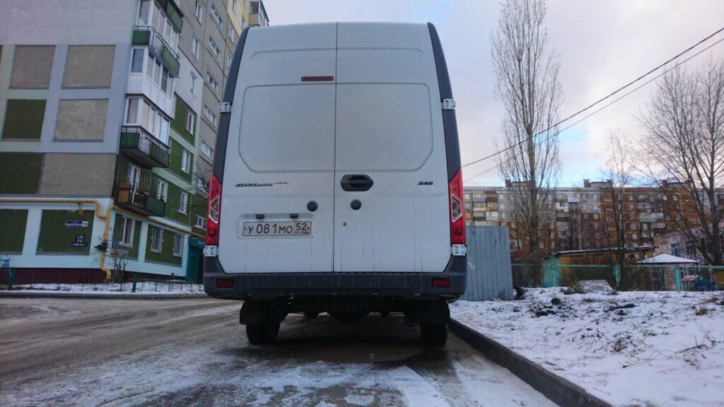 Новую «Газель» впервые сфотографировали на дорогах