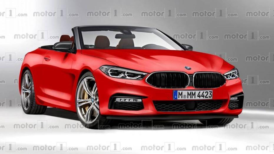 Появились рендеры нового кабриолета BMW 8 Series