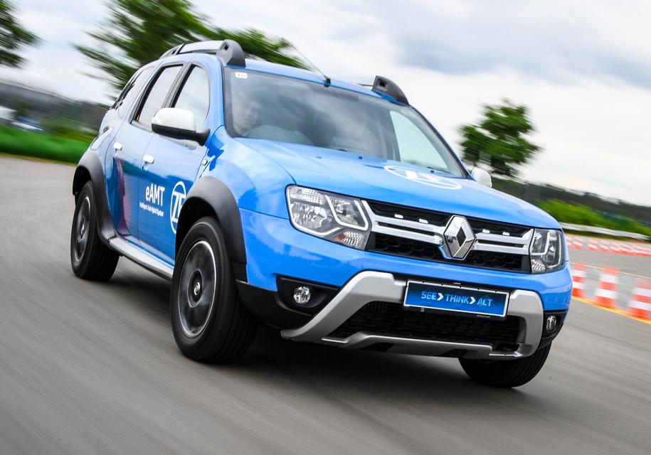 Кроссовер Renault Duster получил гибридную трансмиссию от ZF