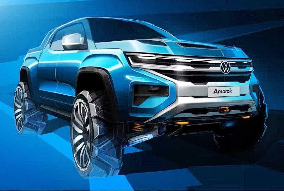 Volkswagen показал пикап Amarok нового поколения