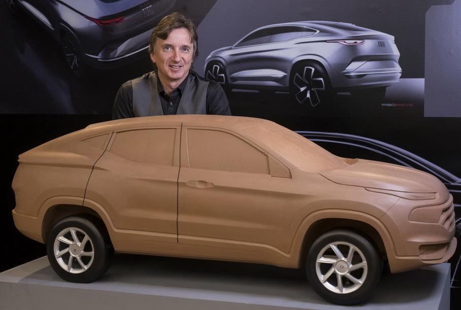 Fiat показала трёхмерный макет нового купеобразного кроссовера