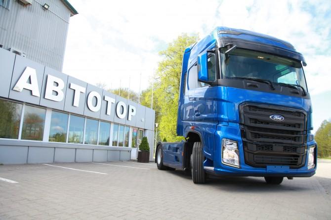 На «Автоторе» стартовала сборка нового тягача Ford Trucks F-Max