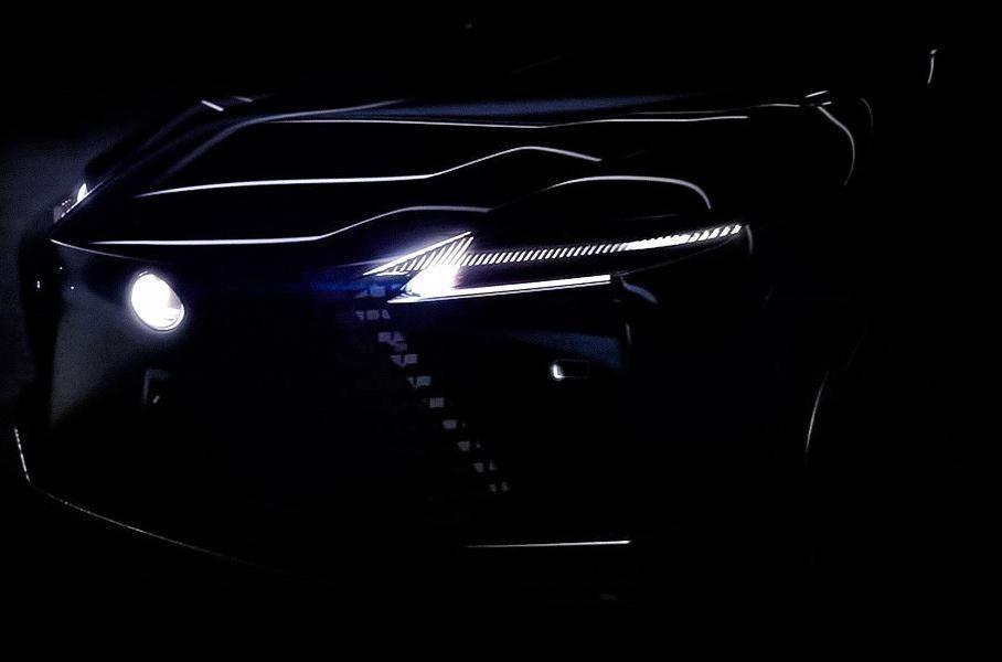 Lexus продемонстрировал еще один тизер нового электромобиля
