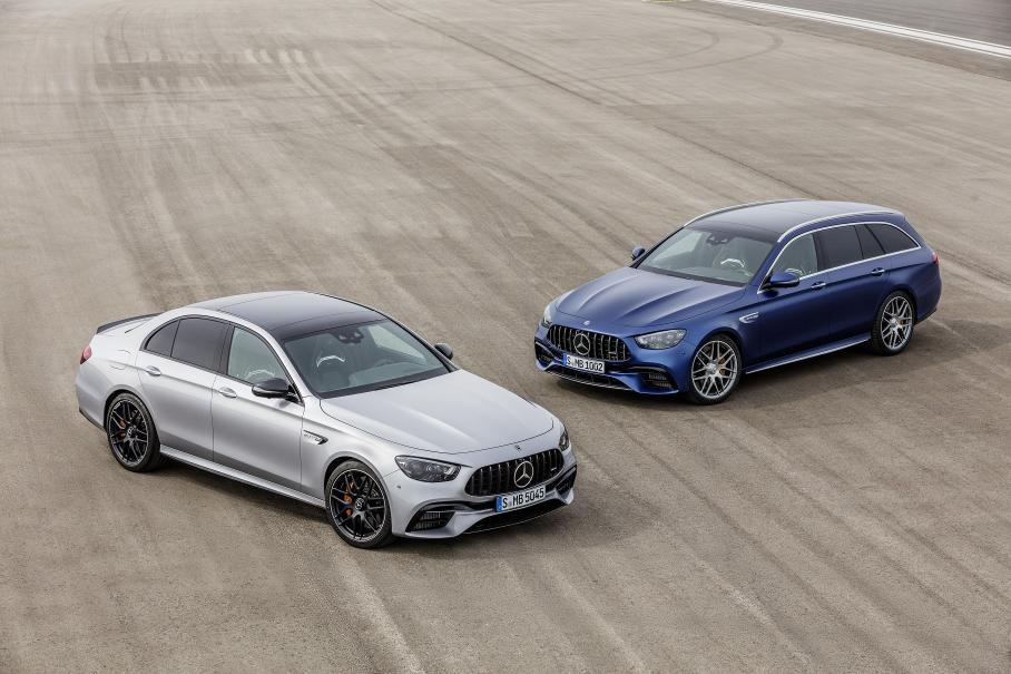 Обновленный Mercedes-AMG E 63 презентован официально
