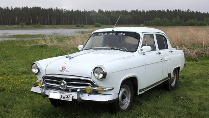 Легендарный ГАЗ-21 «Волга» со звездой в Барнауле выставили на продажу