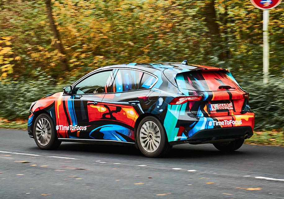 В Сети появились новые фото Ford Focus 2019 модельного года