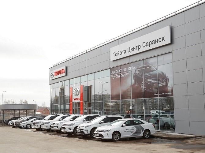 Toyota в Мордовии открыла свой первый дилерский центр