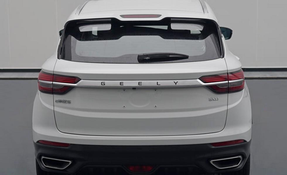 Geely готовит к дебюту новый кроссовер на базе Volvo XC40