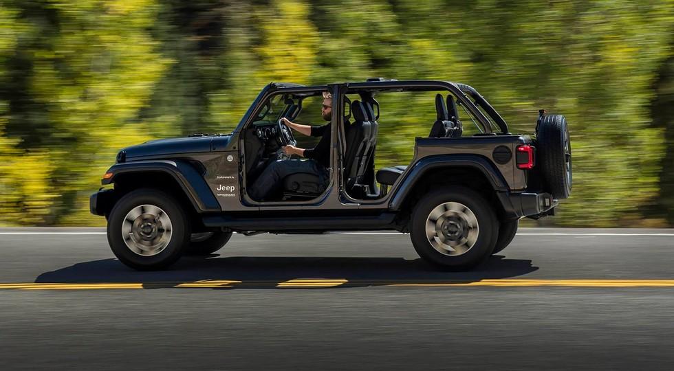 Новый внедорожник Jeep Wrangler дебютировал в Лос-Анджелесе