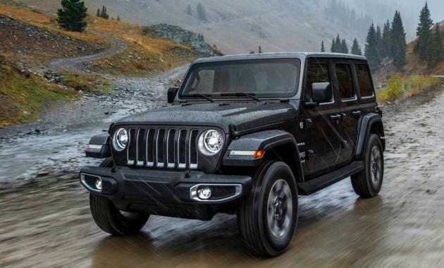 Плагин-гибридный Jeep Wrangler дебютирует в 2020г