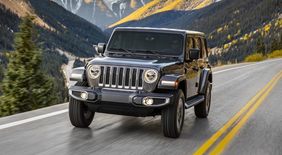 Jeep начал официальные продажи нового Wrangler JL 2018