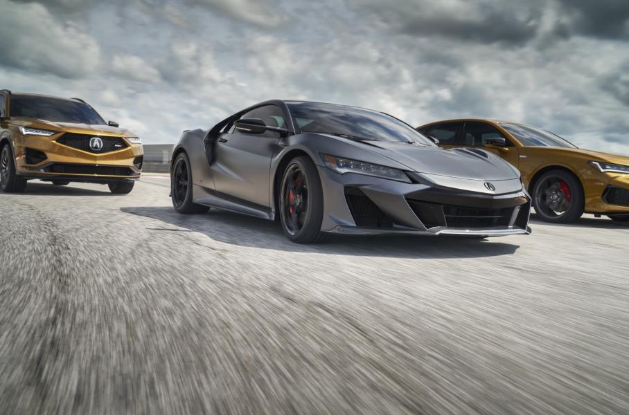 Компания Acura создала прощальную спецверсию спорткара NSX Type S