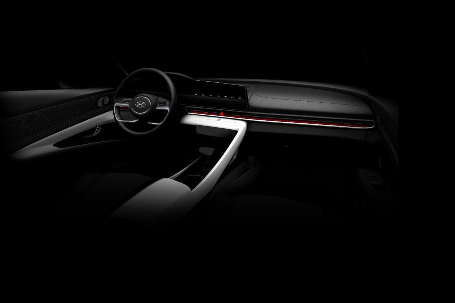 Hyundai показал на видео дизайн новой Hyundai Elantra