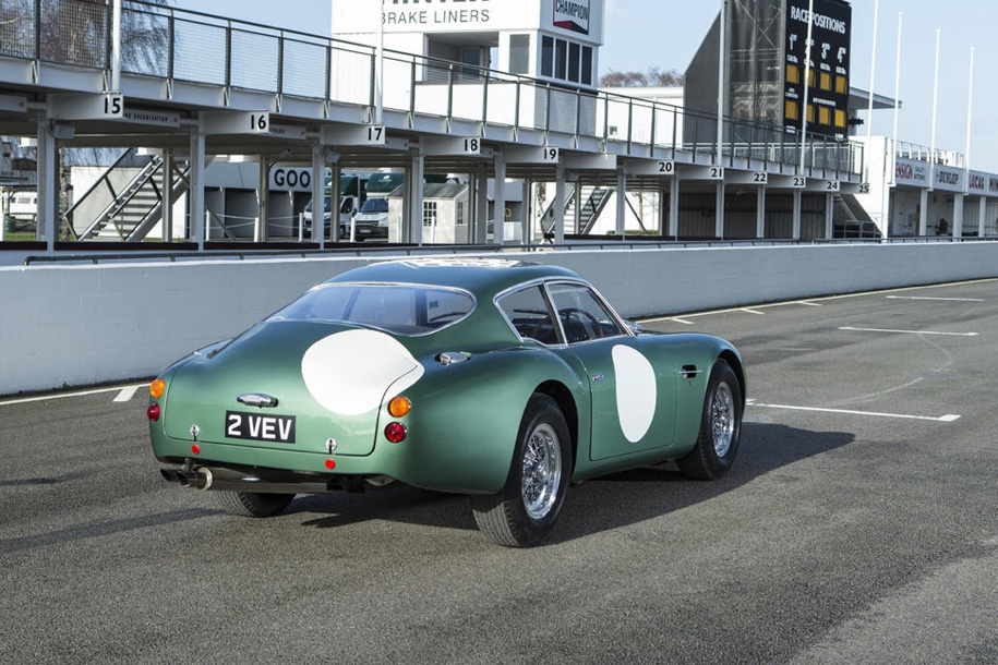 Bonhams выставит на продажу Aston Martin DB4GT Zagato 2 VEV 1961 года