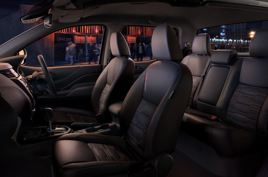Nissan представила обновленный пикап Nissan Navara