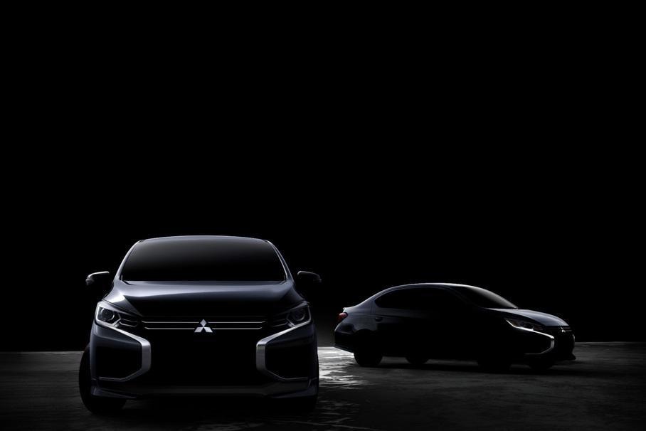 Mitsubishi анонсировал тизером обновленные Mirage и Attrage
