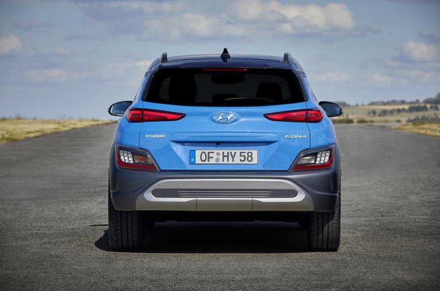 Компания Hyundai представила обновленный кроссовер Kona