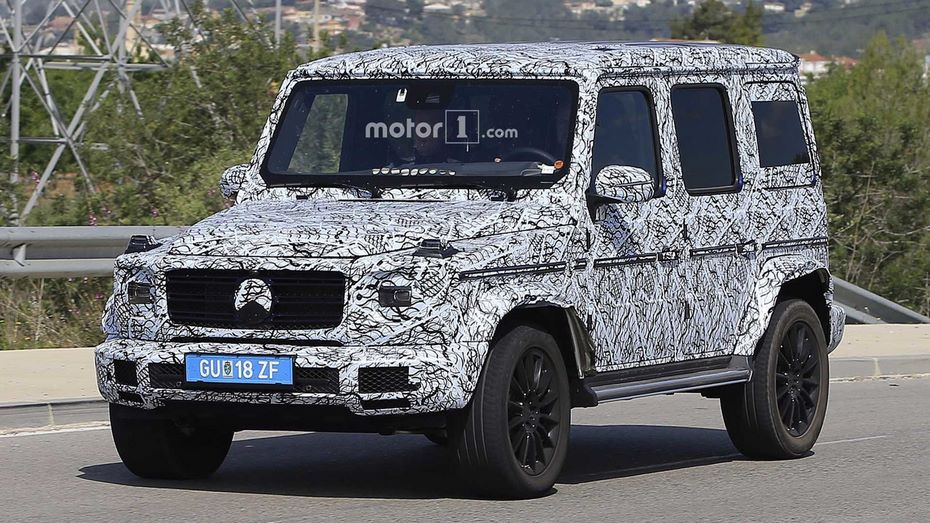 Названа дата презентации нового Mercedes-Benz Gelandewagen