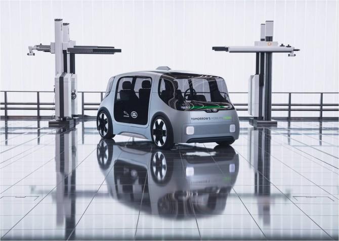 Компания Jaguar Land Rover представила беспилотник