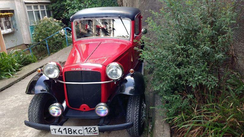 Adam Opel 1940 года с историей продают в Сочи за 2 млн рублей