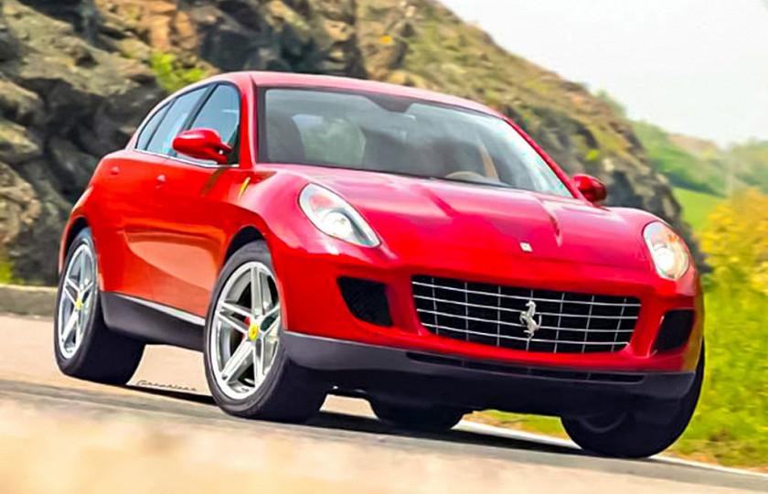 Ferrari собирается выпускать эксклюзивные внедорожники