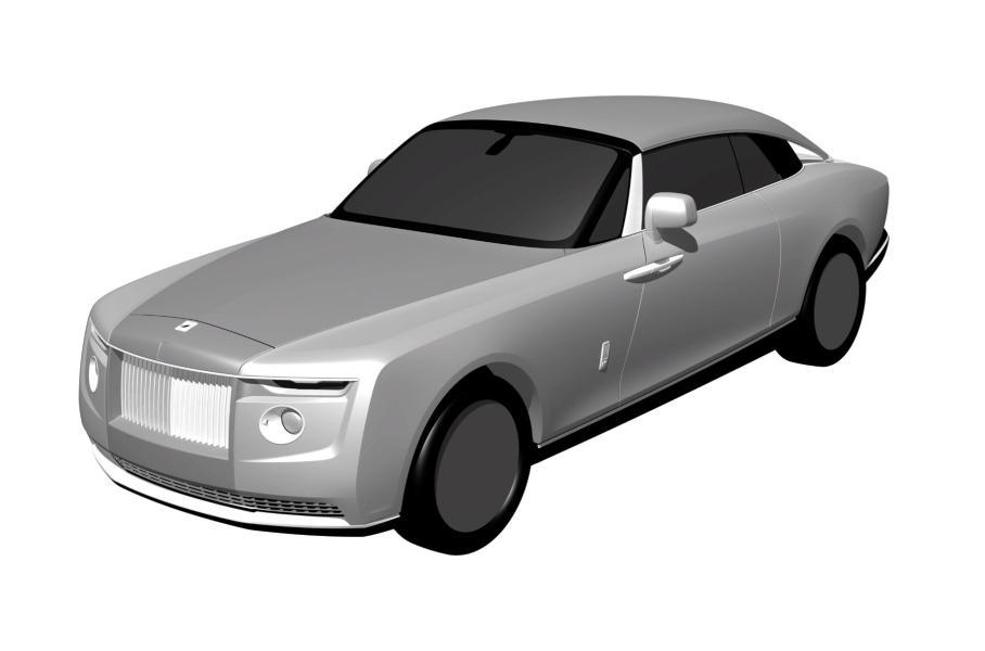 Rolls-Royce запатентовал в РФ дизайн кабриолета стоимостью 2 млрд рублей