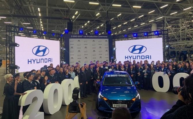 Hyundai в России выпустила 2-миллионный легковой автомобиль
