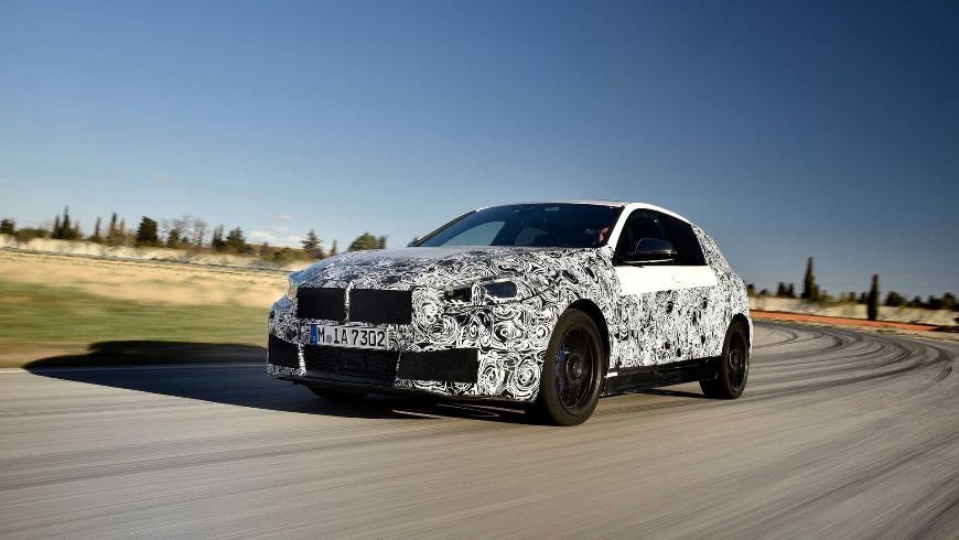 Рассекречена базовая комплектация нового BMW 1 Series