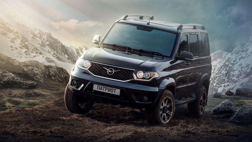 УАЗ поднял цены на внедорожник УАЗ «Патриот» и УАЗ «Пикап»