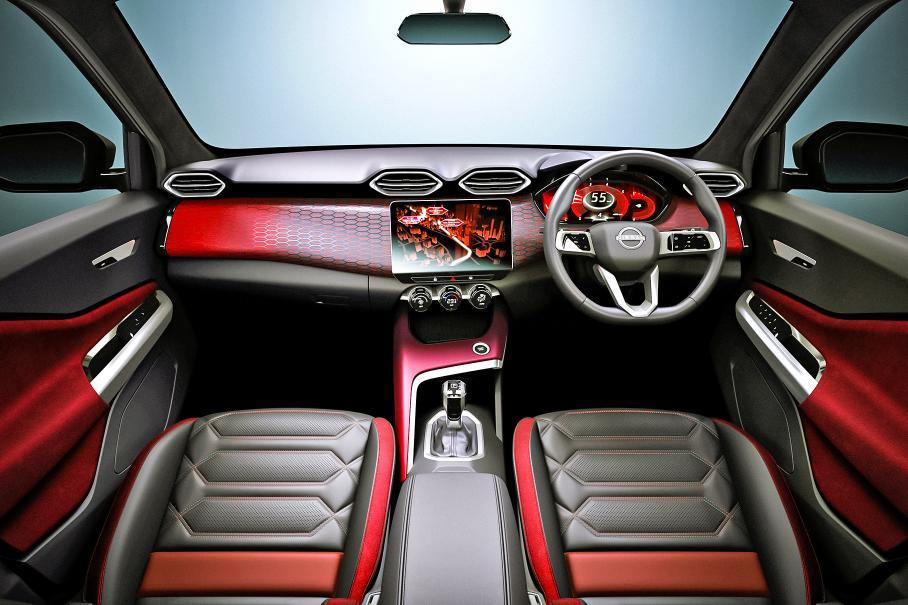 Nissan показал интерьер небольшого кроссовера Nissan Magnite