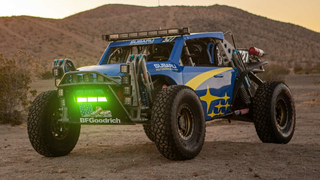 Subaru Crosstrek Desert Racer готовят к участию на Baja 500
