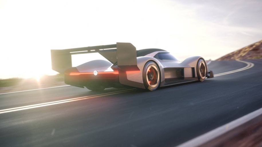 Volkswagen представила новый электрический спорткар I.D. R Pikes Peak