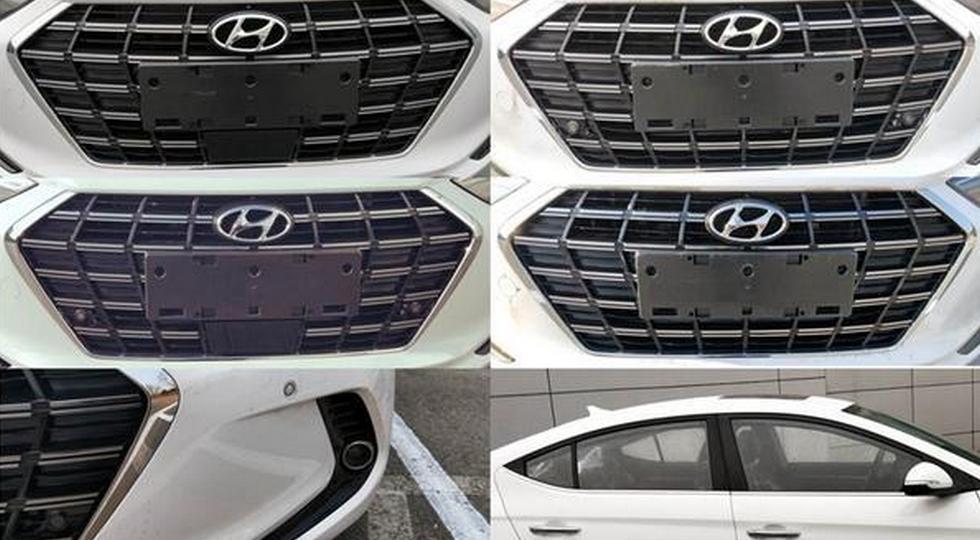 Рассекречен обновленный седан Hyundai Elantra с новым двигателем