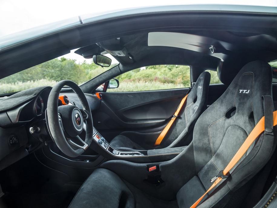 McLaren посвятила спорткар 675LT гоночному McLaren F1 GTR