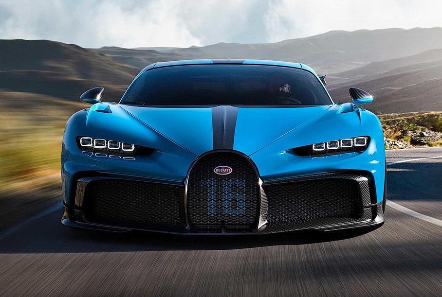 Bugatti представила лимитированный Chiron Pur Sport