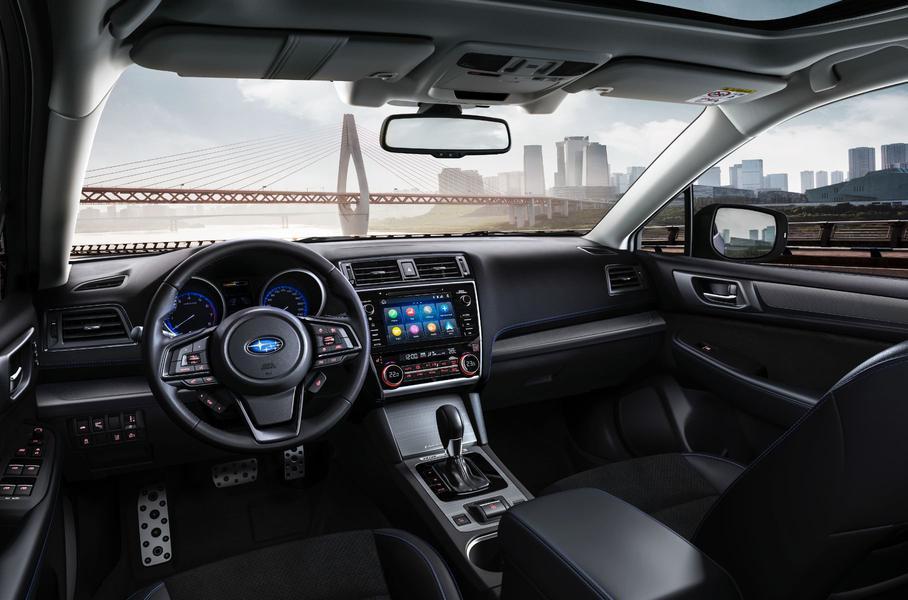 Subaru начала продажи новой версии седана Subaru Legacy в РФ