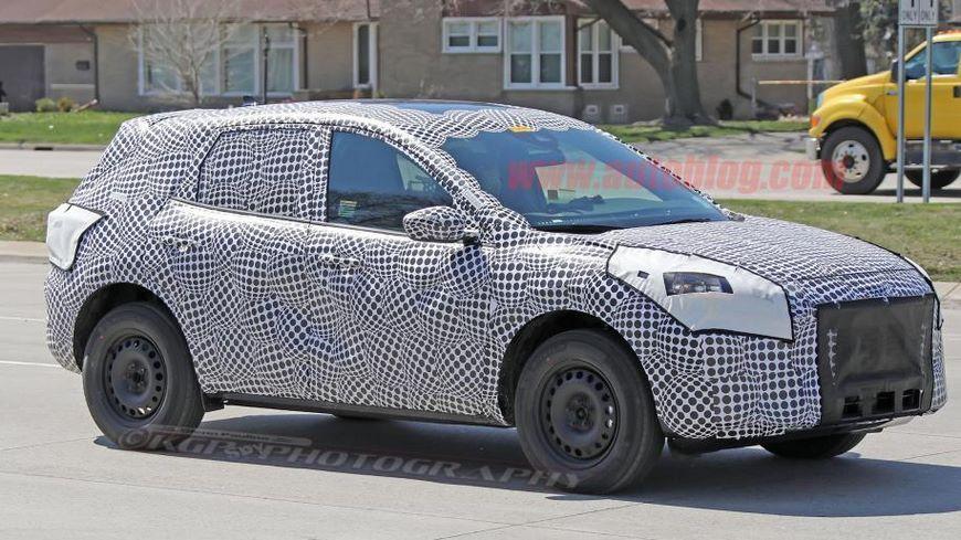 Интерьер нового кроссовера Ford Kuga рассекречен в Сети