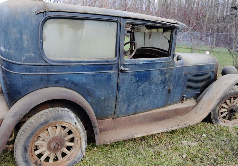 Уникальный 90-летний Marmon Model L 1927 года нашли в гараже в США