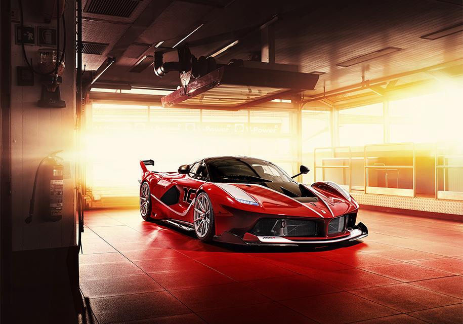 Новый 1050-сильный гибрид Ferrari FXX K Evo готовится к премьере