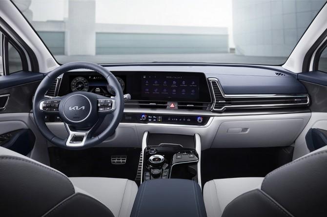 Kia раскрыла внешность и салон кроссовера Kia Sportage новой генерации