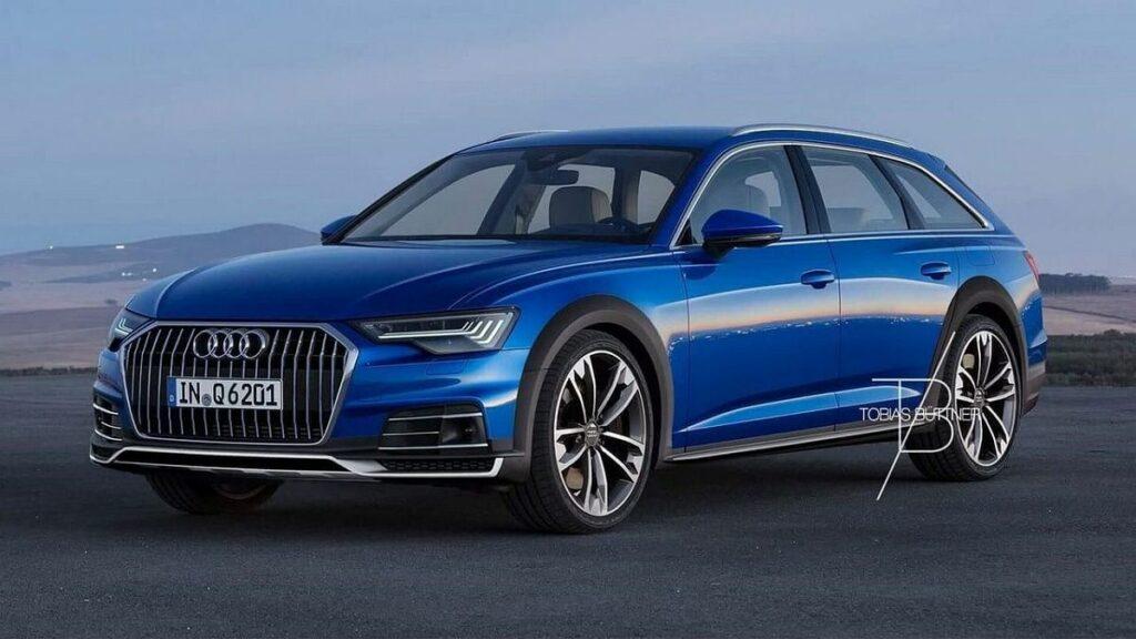 В Сети появились первые рендеры нового универсала Audi A6 Allroad